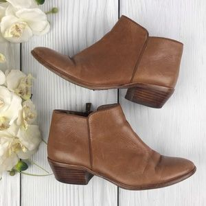 Sam Edelman Saddle Leather Ankle Boots 7